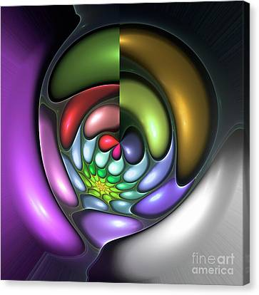 Colorful Canvas Print by Stefan Kuhn