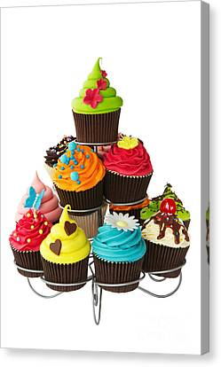 Cupcake Stand Canvas Print by Ruth Black