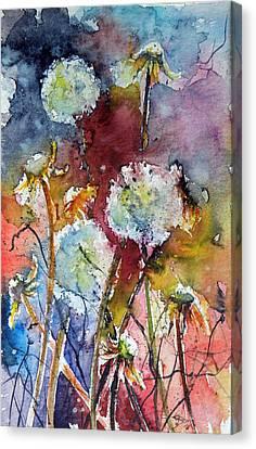 Dandelion Canvas Print by Kovacs Anna Brigitta