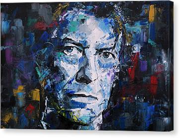 David Bowie Canvas Print by Richard Day