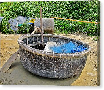 Fishing Boat. Phu Quoc. Vietnam. Canvas Print by Andy Za