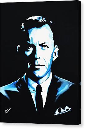Frank Sinatra Canvas Print by Richard Garnham
