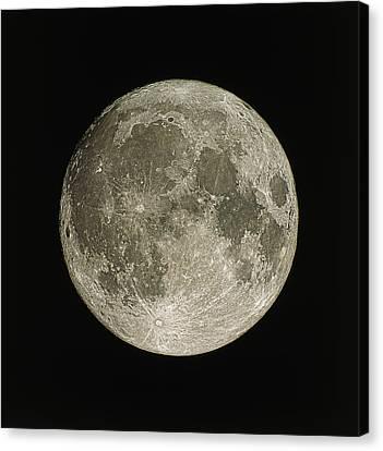 Full Moon Canvas Print by Eckhard Slawik