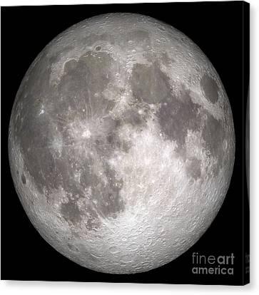 Full Moon Canvas Print by Stocktrek Images