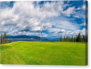 Golf Tee Canvas Print by Ulrich Schade