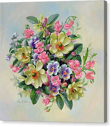 Homage To Her Majesty The Queen Mother Canvas Print by Albert Williams