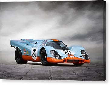 I Am Legend Porsche 917 Canvas Print by Peter Chilelli
