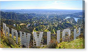 Iconic Hollywood  Canvas Print by Art K