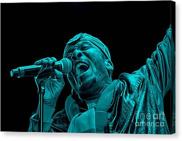 Jimmy Cliff Collection Canvas Print by Marvin Blaine