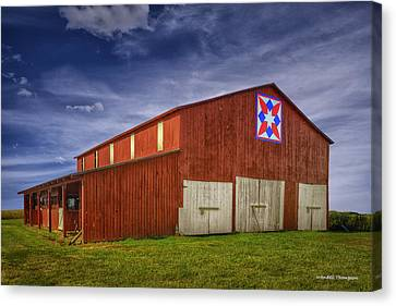 Kentucky Quilt Barn Canvas Print by Wendell Thompson