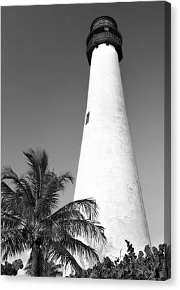 Key Biscayne Lighthouse Canvas Print by Rudy Umans