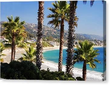 Laguna Beach California Coast Canvas Print by Utah Images
