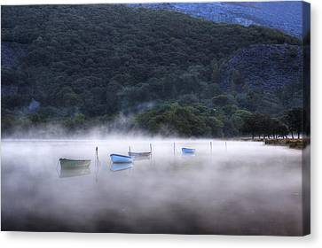 Lake Llyn Padarn - Wales Canvas Print by Joana Kruse