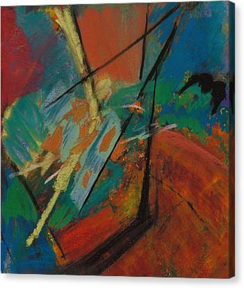 Landing Sight Canvas Print by Ethel Vrana