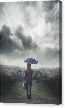 Leaving Canvas Print by Joana Kruse