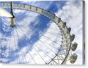 London Eye Canvas Print by Svetlana Sewell