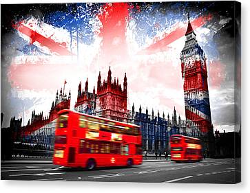 London  Canvas Print by Mark Ashkenazi
