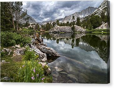 Long Lake Canvas Print by Cat Connor