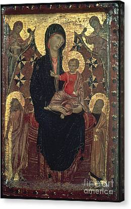 Madonna And Child Canvas Print by Granger
