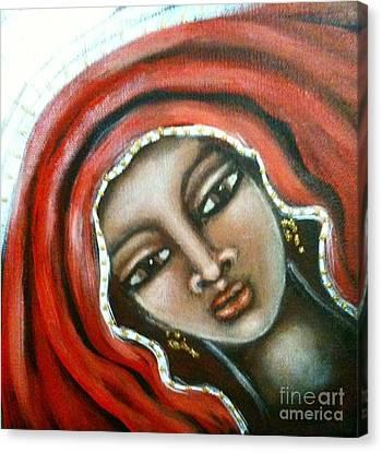 Maryam Canvas Print by Maya Telford