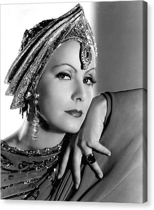 Mata Hari, Greta Garbo, Portrait Canvas Print by Everett