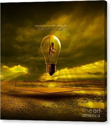 Mystical Light Canvas Print by Franziskus Pfleghart