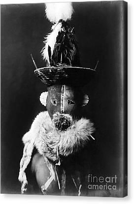 Navajo Mask, C1905 Canvas Print by Granger