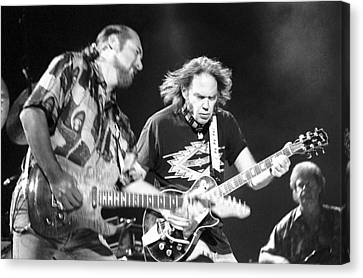 Neil Young Canvas Print by Wayne Doyle