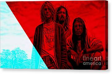 Nirvana Collection Canvas Print by Marvin Blaine