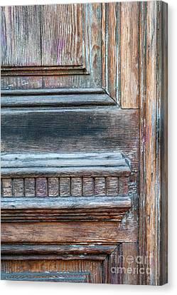 Old Door Fragment Canvas Print by Elena Elisseeva