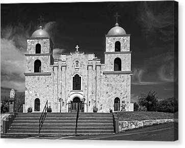 Our Lady Of Guadalupe Church Canvas Print by Mountain Dreams