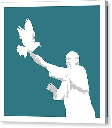 Pope Francis Canvas Print by Greg Joens