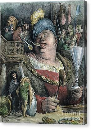 Rabelais: Gargantua, 1873 Canvas Print by Granger