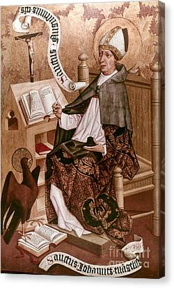 Saint Augustine (354-430) Canvas Print by Granger