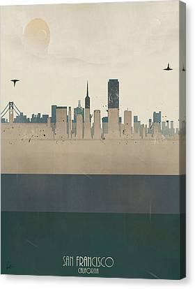 San Francisco California Canvas Print by Bri B