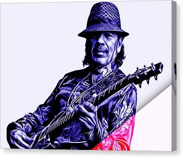 Santana Collection Canvas Print by Marvin Blaine