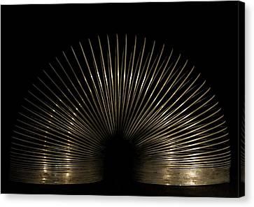 Slinky. Canvas Print by Angela Aird