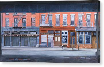 South Street Canvas Print by Anthony Butera