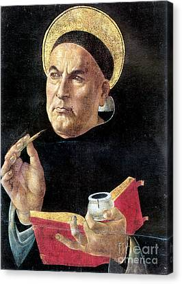 St. Thomas Aquinas Canvas Print by Granger