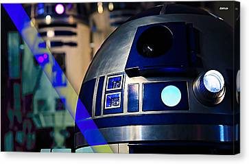 Star Wars R2-d2 Collection Canvas Print by Marvin Blaine