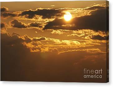 Sunset Canvas Print by Michal Boubin