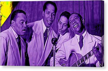 The Ink Spots Collection Canvas Print by Marvin Blaine