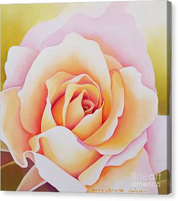 The Rose Canvas Print by Myung-Bo Sim