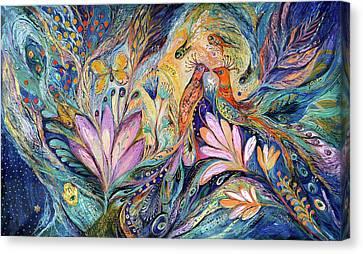 The Sea Song Canvas Print by Elena Kotliarker