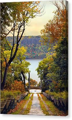 The Vista Steps Canvas Print by Jessica Jenney