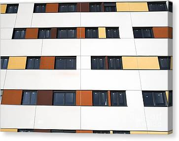 Unfinished Flats, Spain Canvas Print by Carlos Dominguez