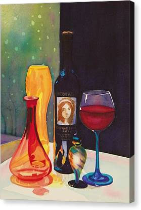 Untitled Glass Canvas Print by Terry Honstead