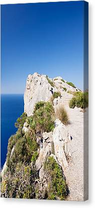 Viewpoint Of Mirador D Es Colomer, Cap Canvas Print by Panoramic Images
