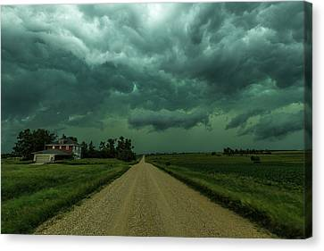 Weathered Canvas Print by Aaron J Groen