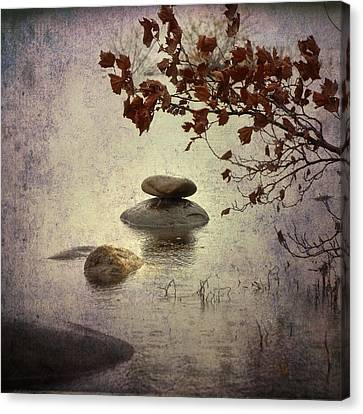 Zen Stones Canvas Print by Joana Kruse